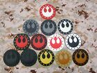 STAR WARS New Jedi Republic Logo Military Morale 3D PVC Patch $6.49 CAD
