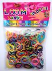 300 COLOURFUL GLITTER RAINBOW LOOM BANDS BRACELET MAKING PARTY STOCKING FILLER