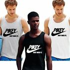 PIKEY JUST NICK IT VEST beach summer gym T Shirt gift novelty BNWT funny NEW TOP