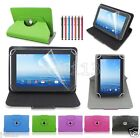 """Rotating Leather Case Cover+Gift For 7"""" Prontotec 7/Noria 7 Android Tablet GB1"""