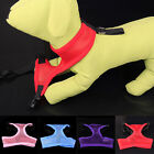 Pet Puppy Dog Cat Harness Collar Safety Chest Strap Mesh Vest 4 Colors Jacket