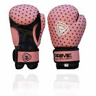 Kids Boxing Gloves Punch Bag Junior MItts Girls Punching Sports Gloves Pink