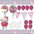 Hello Kitty Party Decorations Balloons - Birthday Banners - Bunting