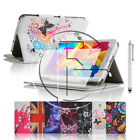 For Samsung Galaxy Tablets Various PU Leather Case Cover Flip Wallet Stand