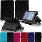 "Universal Adjustable Leather Stand Case Cover For 7"" 7 Inch Android Tablet +Gift"