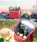 Travelus Soft Cooler - Cube - Thermal Insulated Cooler Lunch / Wine Picnic Bag