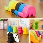 Practical Cute Elephant Phone Stand Mobile Holder Bedside MP3 Chopstick Colorful