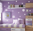 Large Snowflakes Vinyl Wall Sticker, Shop Front Window Sticker- High Quality