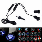 2X Car LED CREE Door Welcome Logo Laser Projector Ghost Shadow Light BMW AUDI WV