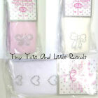 Baby Girls Tights Mary Jane Style Diamante Heart Bow Butterfly Size 0 - 24 mths