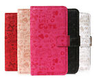 Animated Leather Wallet Stand Case Cover For Samsung Galaxy SIV S4 I9500 I9505