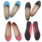 Fashion Hot Sale Women's Pure Color Sweet Drill Flats Pretty Comfort Shoes NEW