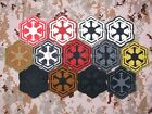 STAR WARS Republic order Empire Airsoft Tactics Morale 3D PVC  Patch $6.49 CAD