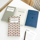 Half year - 6 Month Scheduler Weekly Planner Undated Diary Journal Organizer