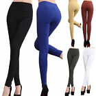 Waisted leggings Pants Sexy Leggings Slim Stretch Trousers Tights