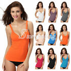 Women's Sexy Modal Boob Tube Tops Belted Tank Top Casual Sleeveless 9 Colors
