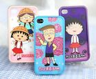 Sakura Momoko iPhone4/4s Japan Chibimaruko-chan Hard Cover Fitted Case Skin Cute