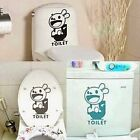 Rabbit Toilet Stickers Personalized Cartoon Bunny Wall Stickers Tile Decoration