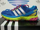 NEW ADIDAS Kanadia Trail Women's Running Shoes - Blue/Green/Pink;  D73920