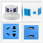 Universal Vertical Power Socket Powerboard Outlet Plug Extension USB Port AU US