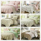 Little Flowers Queen Size Bed Quilt/Doona/Duvet Cover Set New 100% Cotton Linen