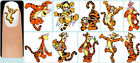 60x Winnie The Pooh & Friends OR Eeyore OR Tigger Nail Art Decals + Free Gems