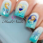 Frozen Nail Art Wraps Water Transfers Decals Elsa Olaf Anna Disney Y1109