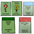 MONOPOLY - A6 Hardcover Note Book - Choose Design - Licensed Monopoly Product