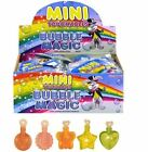 CHILDRENS MINI TOUCHABLE BUBBLES CHRISTMAS STOCKING PARTY BAG FILLERS FOR KIDS