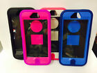MULTI LAYER DEFENDER CASE FOR IPHONE 5/5S KICKSTAND & HOLSTER