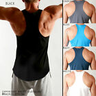 5PACK! Mens RACERBACK Lifting Gym Training Singlet Weights Stringer Tank Tops