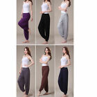 Womens Bloomer Hippie Baggy Harem  High Waits Dance Yoga Sports Trousers Pants