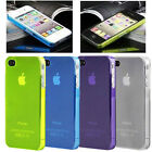 0.5MM ULTRA THIN CRYSTAL SERIES BACK CASE COVER FOR APPLE IPHONE 4/4s iPhone 5