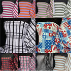 Printed 100% cotton stretch light cotton fabric Lightweight material