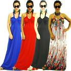 NWT Size S/M/L NEW Women Halter Sexy Bridal Party Evening/Summer Maxi Full Dress