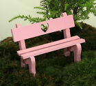 Fairy Garden  Miniatures ~ Dolls House ~ Sweatheart Bench ~ NEW