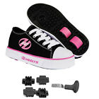 Heelys HX2 Pure Black/Pink FREE & FAST SHIPPING - ALL SIZES