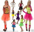 NEON TUTU SKIRT/ACCESSORIES 80,S FANCY DRESS