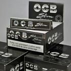 OCB BLACK KING SIZE PREMIUM SLIM CIGARETTE ROLLING PAPERS TOBACCO ROLLING PAPERS