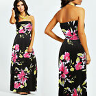 Ladies Strapless Long Skirt Summer Women Maxi Sleeveless Evening Dress Plus Size