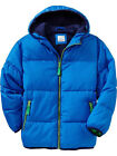 New Old Navy Frost Free Fleece Lined Coat Jacket Parka Blue Boy 4-5 XS