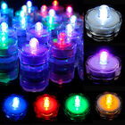 3 6 12 24 36 Pcs LED Submersible Waterproof Wedding Decoration Party Tea Light