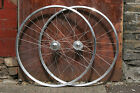 Single Speed Components Carthorse Hybrid Flip Flop | Track Wheelset Silver