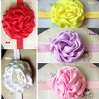 Baby GirlsFlower Headband Rolled Rosette Headband Baby Girl from 6 Month-4Years