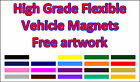 2 x Flexible Magnetic Vehicle Signs