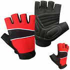 Cycling fingerless sports bicycle bus driving gloves ammara with gel padded 601