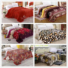 New Stone Wall Super Soft Comfort Lush & Warm MINK Blanket Truffle - 200cm*230cm