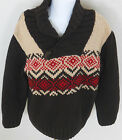 GYMBOREE Boy's Alpine Patrol Brown Shawl Collar Sweater Size S(5-6)
