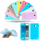 Flip Soft TPU Gel Silicone Rubber Full Cover Case For Samsung Galaxy S2 II i9100