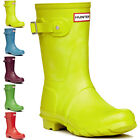 Womens Hunter Original Short Wellington Festival Snow Rain Winter Boots UK 3-8